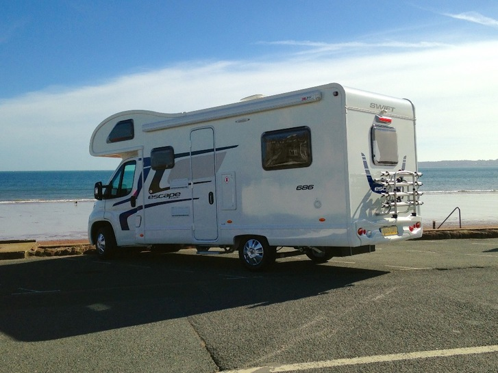 Motorhomes for hire Torquay, Teignmouth, Totnes, Newton Abbot