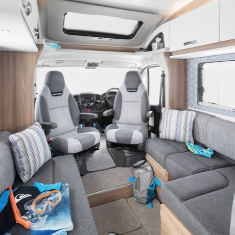 Camper van hire to France from Plymouth