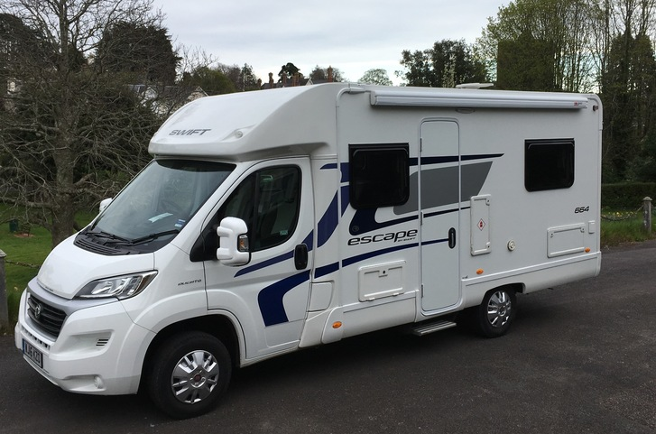 Motorhome rental in Devon