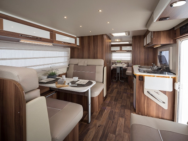 New motorhomes for hire