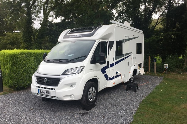 2 and 4 berth motorhome hire Torbay